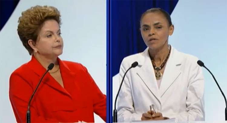 Ibope: em um 2º turno, Marina e Dilma empatam com 41%