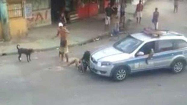 Belém: Homem agride mulher em frente a policiais, que nada fizeram