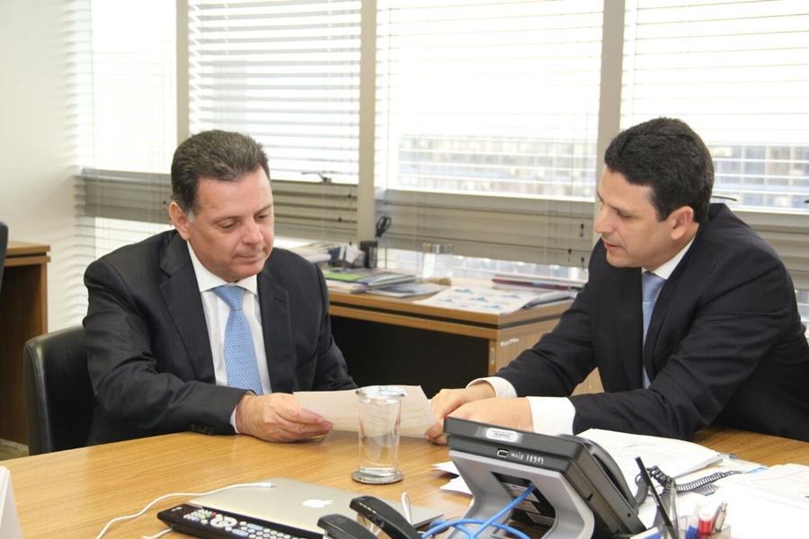 No Ministério das Cidades,Marconi assegura recursos para continuidade das obras do BRT de Goiânia