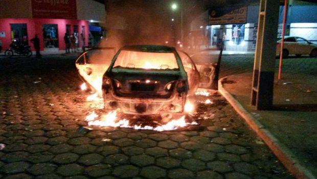 Durante assalto a banco, bandidos tocam terror na cidade de Mozarlândia
