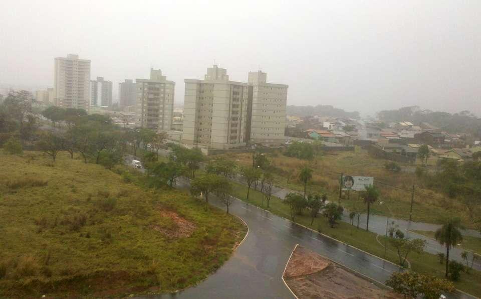 Previsão de chuva para a tarde desta segunda-feira em Goiânia
