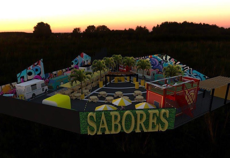 """Inauguração do """"Sabores Food Park"""""""