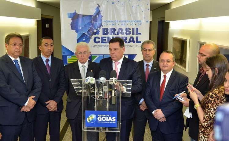 Governadores do Brasil Central formam bloco para buscar o desenvolvimento comum