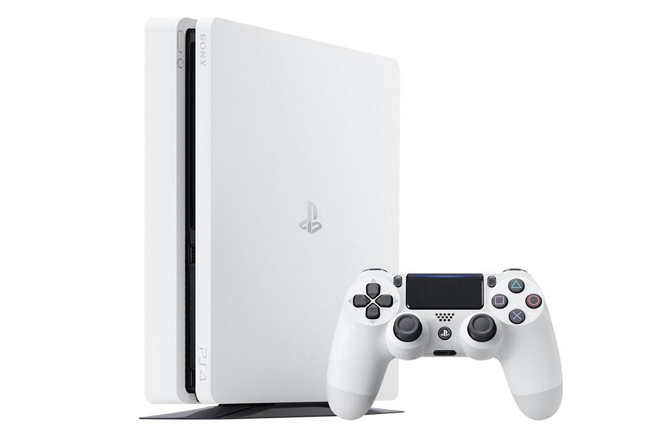 Sony vai lançar um PS4 branco