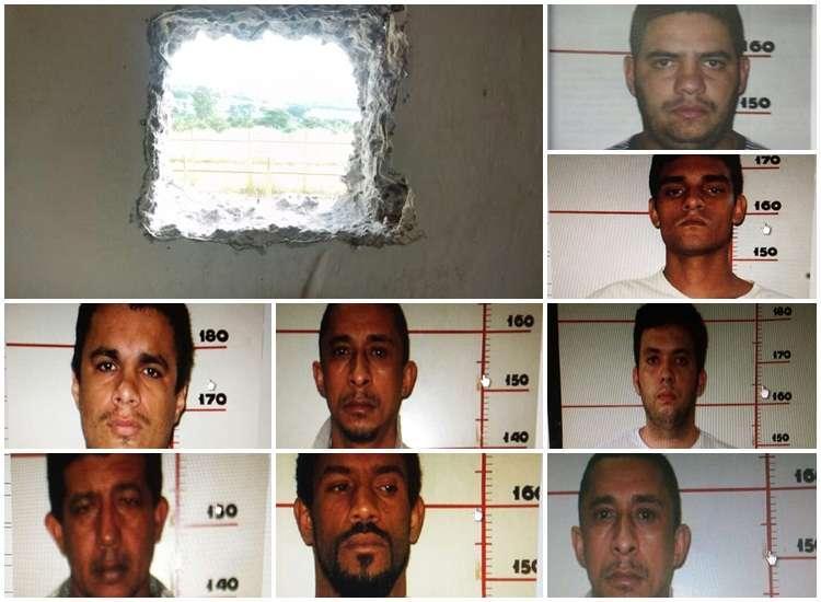 Ao menos 16 presos fogem da CPP em Aparecida de Goiânia