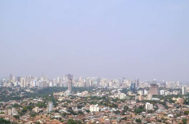 Predomina baixa umidade do ar em Goiás nesta semana