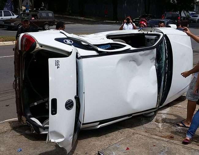 Acidente na Avenida Independência deixa uma pessoa ferida