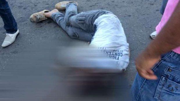 Homem fica gravemente ferido após ser atropelado por ônibus em cima da faixa de pedestre na Rua 90