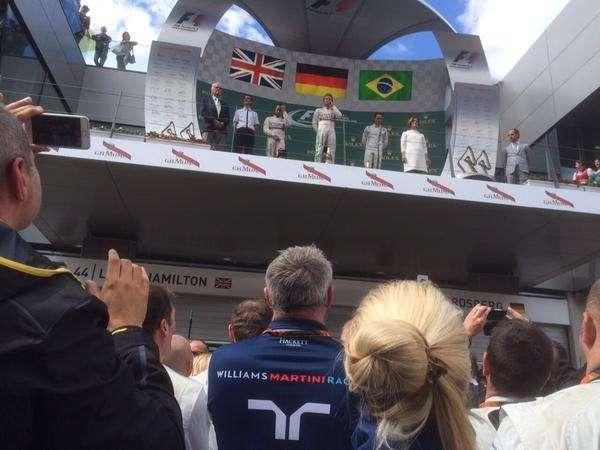 Rosberg vence o Grande Prêmio da Áustria; Massa fica em 3º