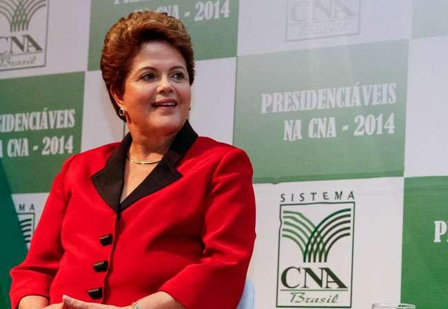 Dilma destaca em sabatina parceria com o agronegócio