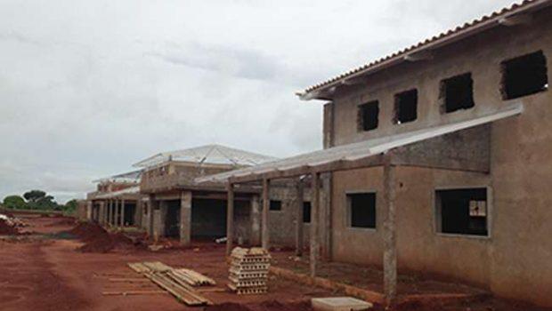 Agetop conclui 50% das obras do Credeq de Quirinópolis