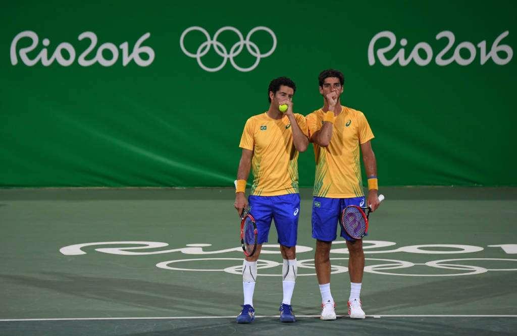 Italianos eliminam dupla brasileira no torneio de tênis