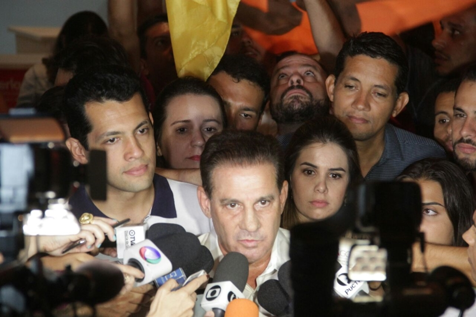 """""""Não vou sair da política por causa de uma derrota"""", afirma Vanderlan Cardoso"""