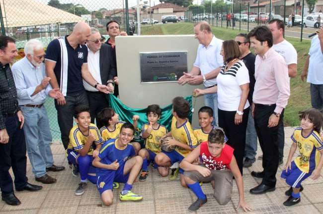 Goiânia tem novo complexo esportivo com o Parque de Vizinhança
