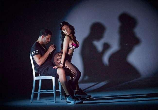 """Nicki Minaj provoca Drake em prévias do clipe de """"Anaconda"""""""