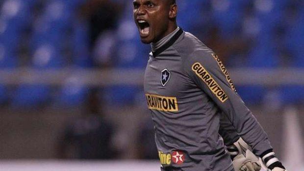 Jefferson, do Botafogo, negocia com o Santos