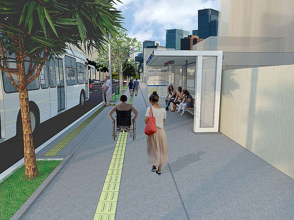 Prefeitura lança obras do corredor de ônibus T-7