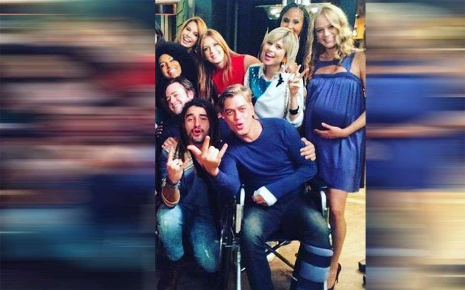 Fábio Assunção volta a gravar 'Totalmente Demais' em uma cadeira de rodas