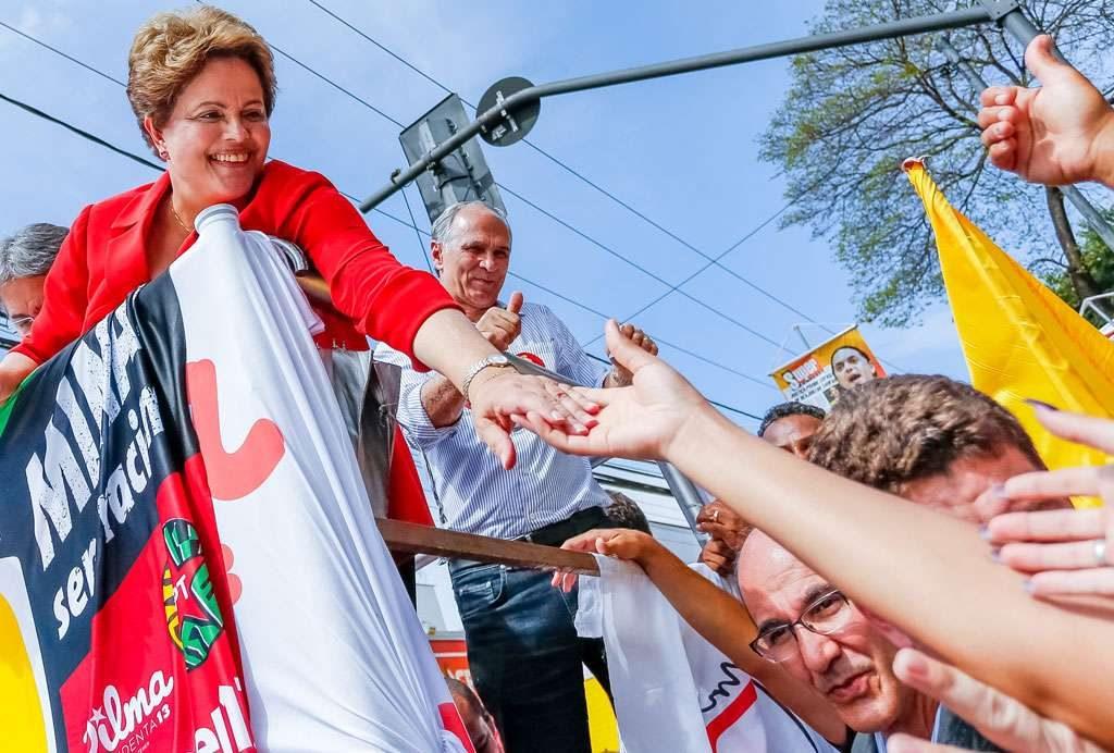 Ibope: Dilma lidera no NE, NO e Centro-Oeste no 1º turno