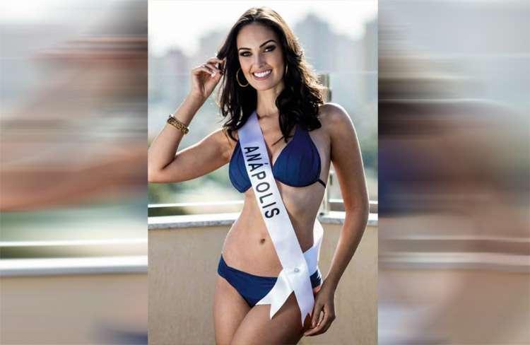 Representante de Anápolis, Thaynara Fernandes, é eleita a nova Miss Goiás