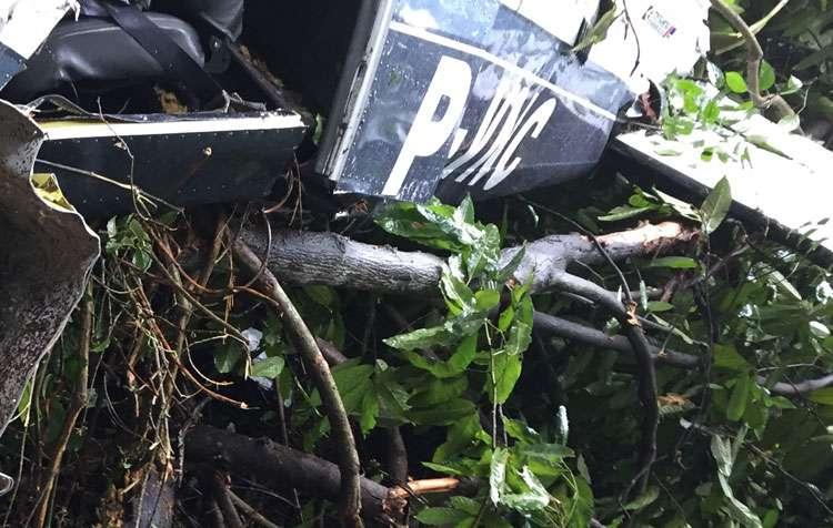 Avião cai na zona rural de Trindade e deixa três pessoas mortas