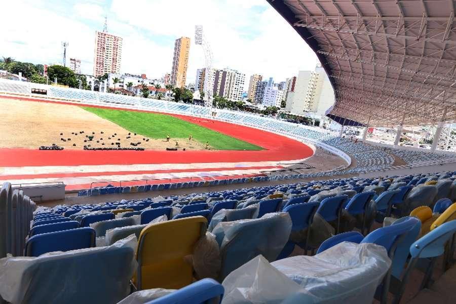 Estádio Olímpico será inaugurado no próximo dia 8