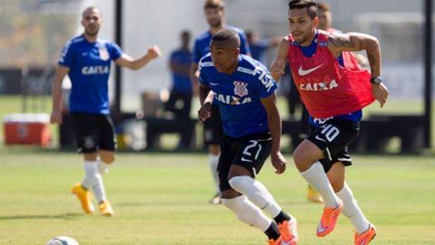 Corinthians treina com Malcom no lugar de Petros