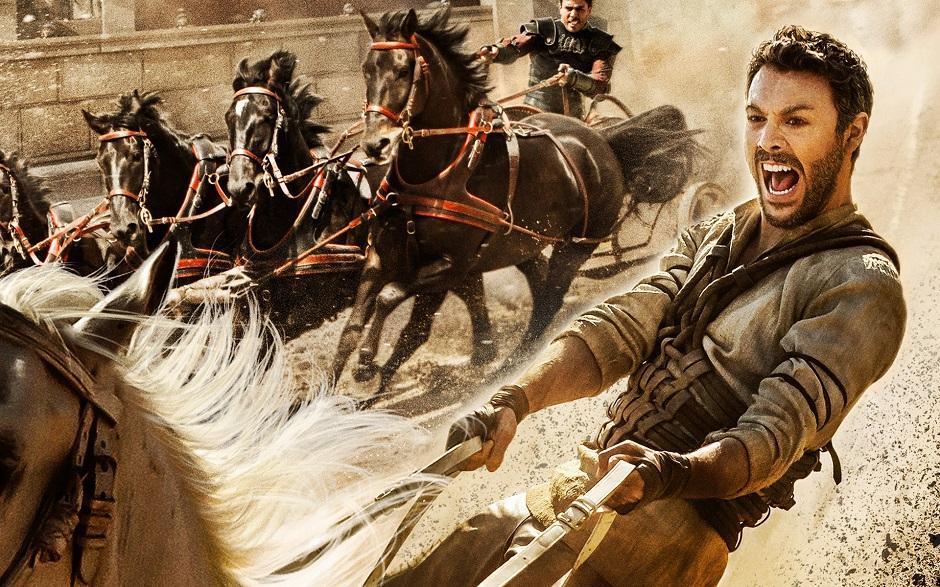 Releitura de Ben Hur estreia nos cinemas