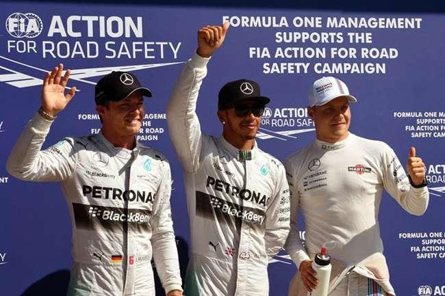 Hamilton fatura pole do GP da Itália; Massa larga em 4º