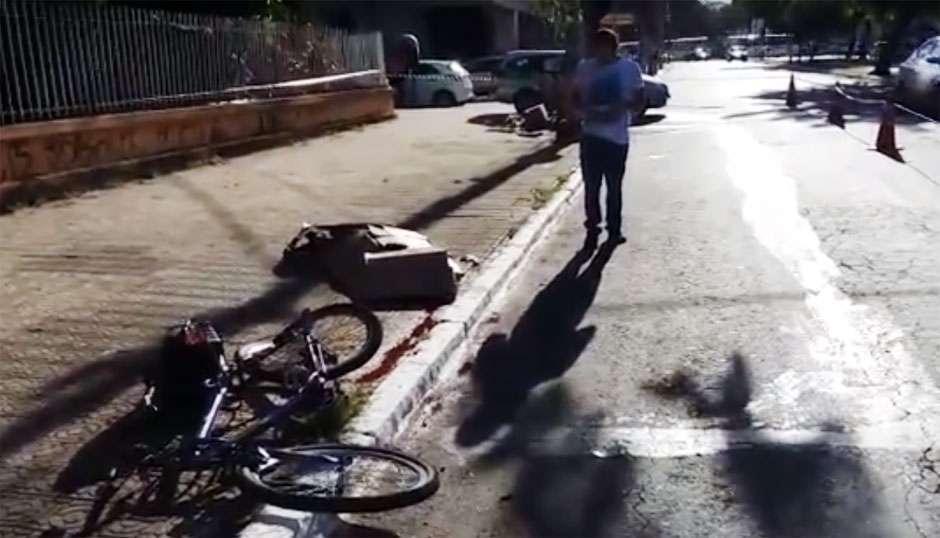 Ciclista de 71 anos morre após ser atropelado no Centro de Goiânia