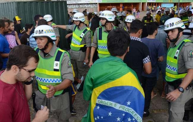 PM monta esquema para amistoso entre Brasil e Panamá