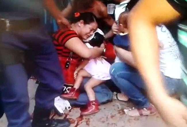 Criança de 2 anos morre atropelada por ônibus do Eixo Anhanguera