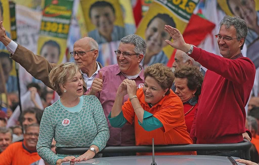 Dilma participa de evento eleitoral em Osasco, SP