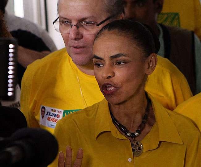 Marina Silva critica ataques de adversários