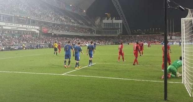Argentina faz 7 a 0 em Hong Kong com 2 gols de Messi