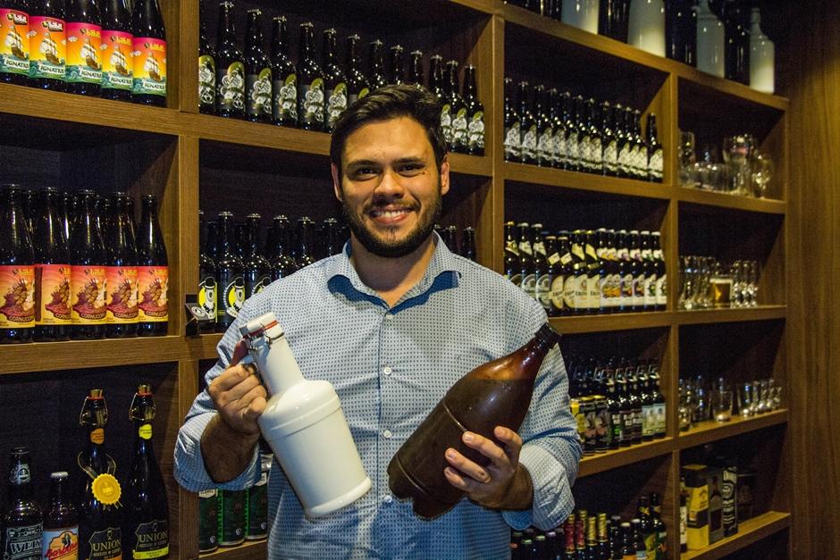 Bar lança serviço de delivery de chopp de cervejas especiais em Goiânia