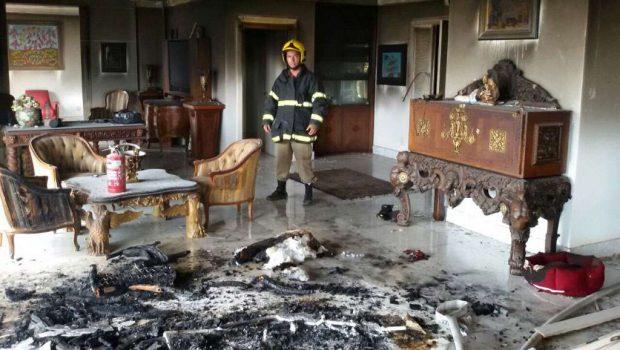 Mulher que teve corpo queimado com explosão em apartamento é transferida