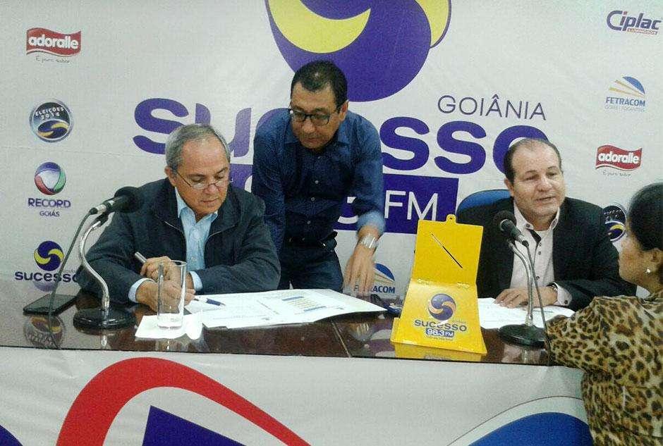 Bittencourt e Waldir protagonizam 1º  confronto da pré-campanha em Goiânia