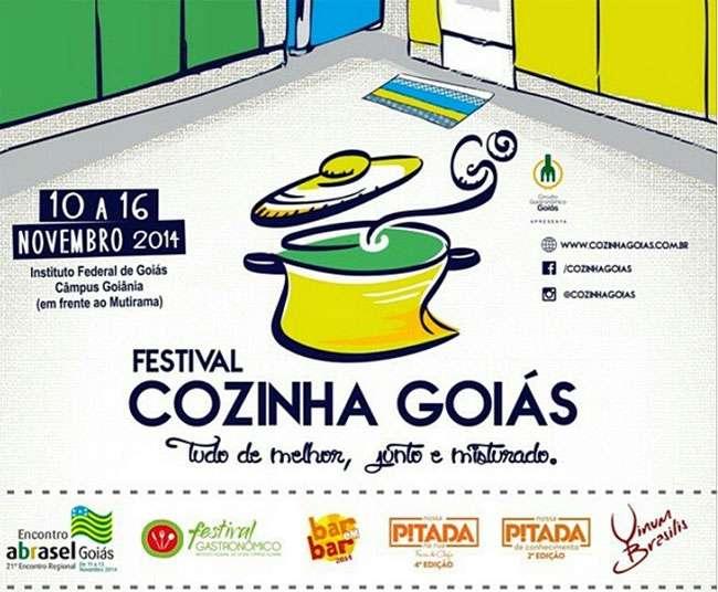 Festival Cozinha Goiás começa nesta segunda