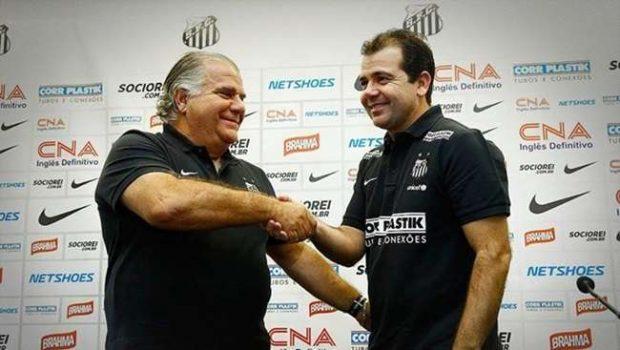 Santos demite Oswaldo de Oliveira. Enderson Moreira, ex-Goiás. assume clube