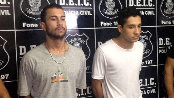 Três são presos por colocar fogo em sala do Fórum de Goiânia
