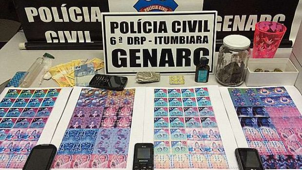 Traficantes são presos em Caldas Novas