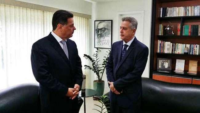 Marconi Perillo e Rodrigo Rollemberg  esperam boa relação com Dilma