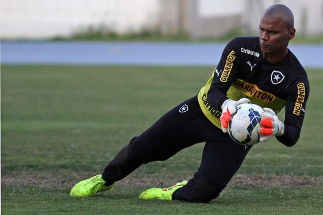 Jefferson admite preocupação com queda no Botafogo