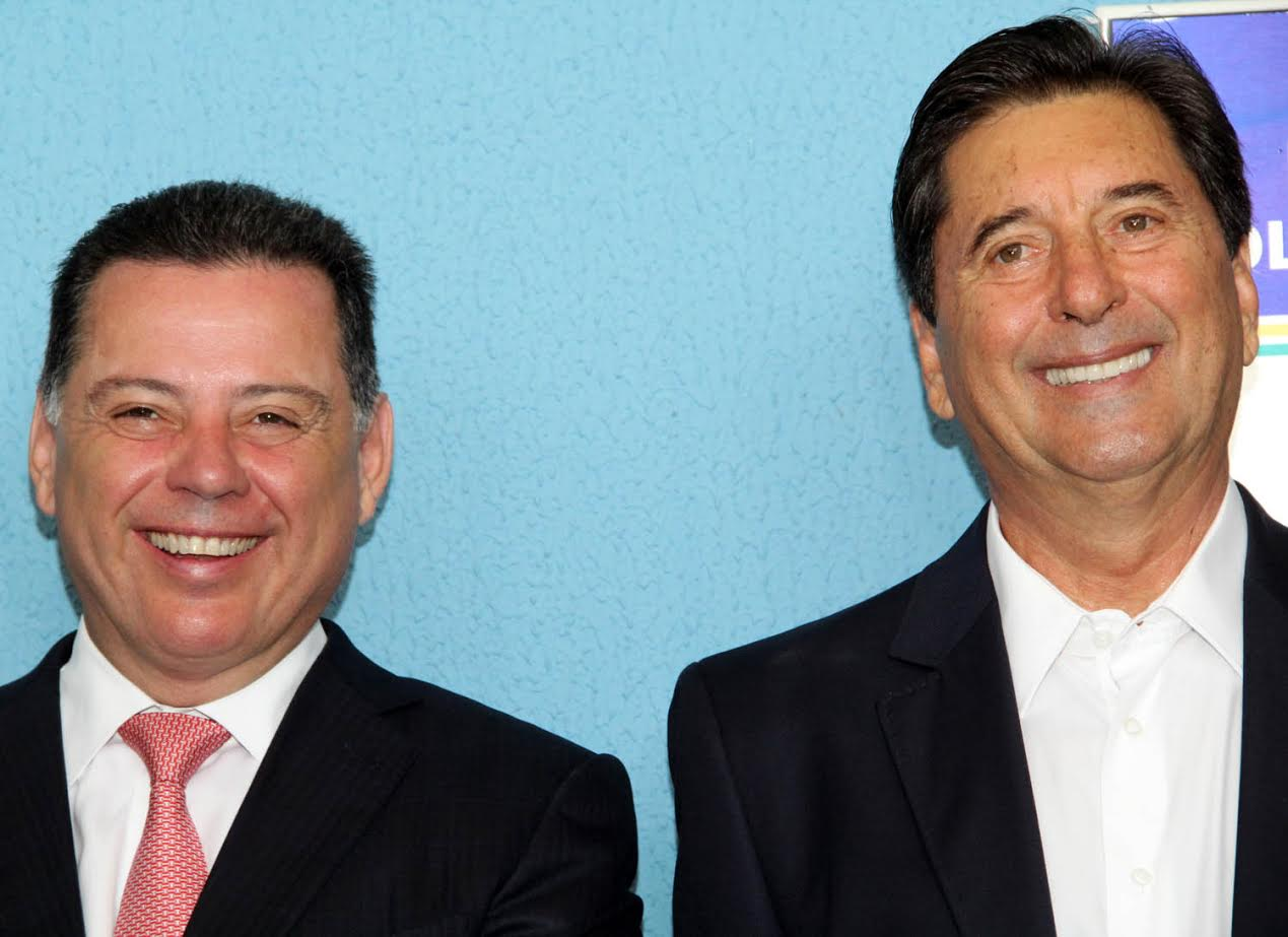 Marconi e Maguito reafirmam sucesso da parceria, independente de coloração política