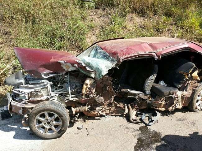 Motorista morre em colisão frontal na BR-153