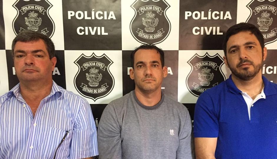 Ex-prefeito e ex-secretário de Saúde de Pontalina são presos