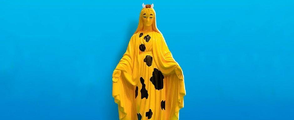 Festival Vaca Amarela se desculpa por arte com imagem de santa