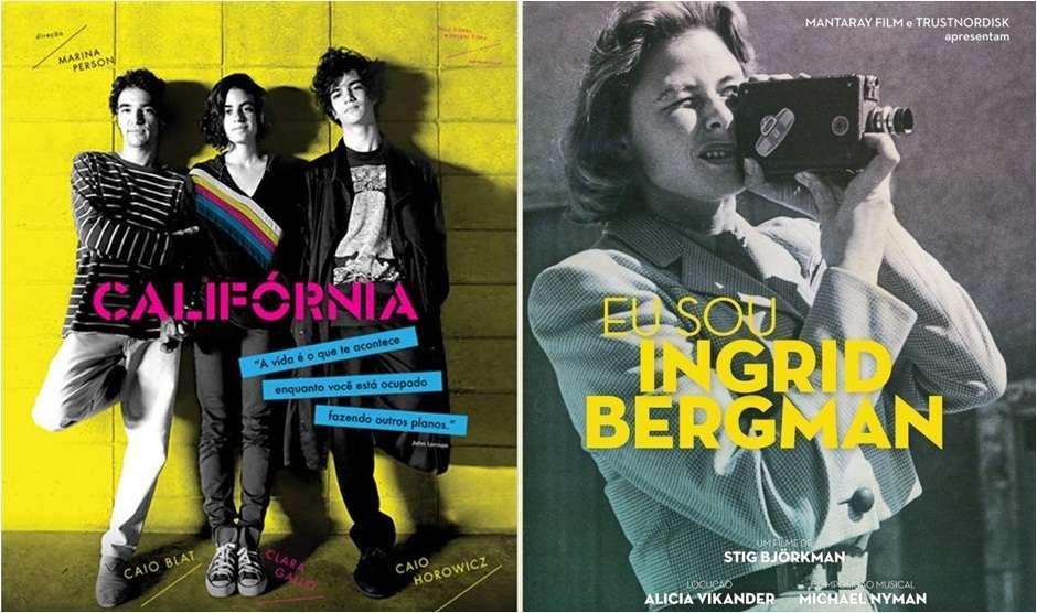 Filme sobre Ingrid Bergman e Califórnia estão no Cine Cultura
