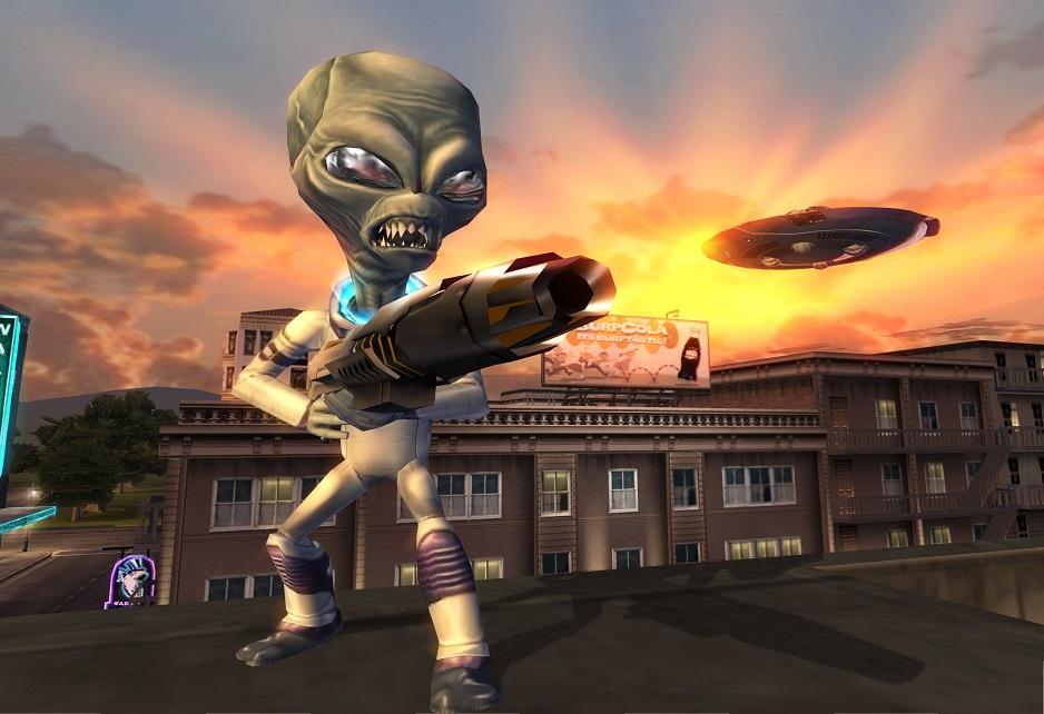 Destroy All Humans é relançado no PS4